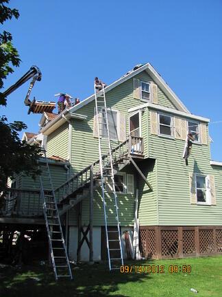 OSHA Ladder violations in Spencer Mass