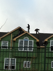 roofers w/o fall protection