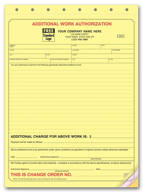 Managing Change Orders On Remodeling Projects