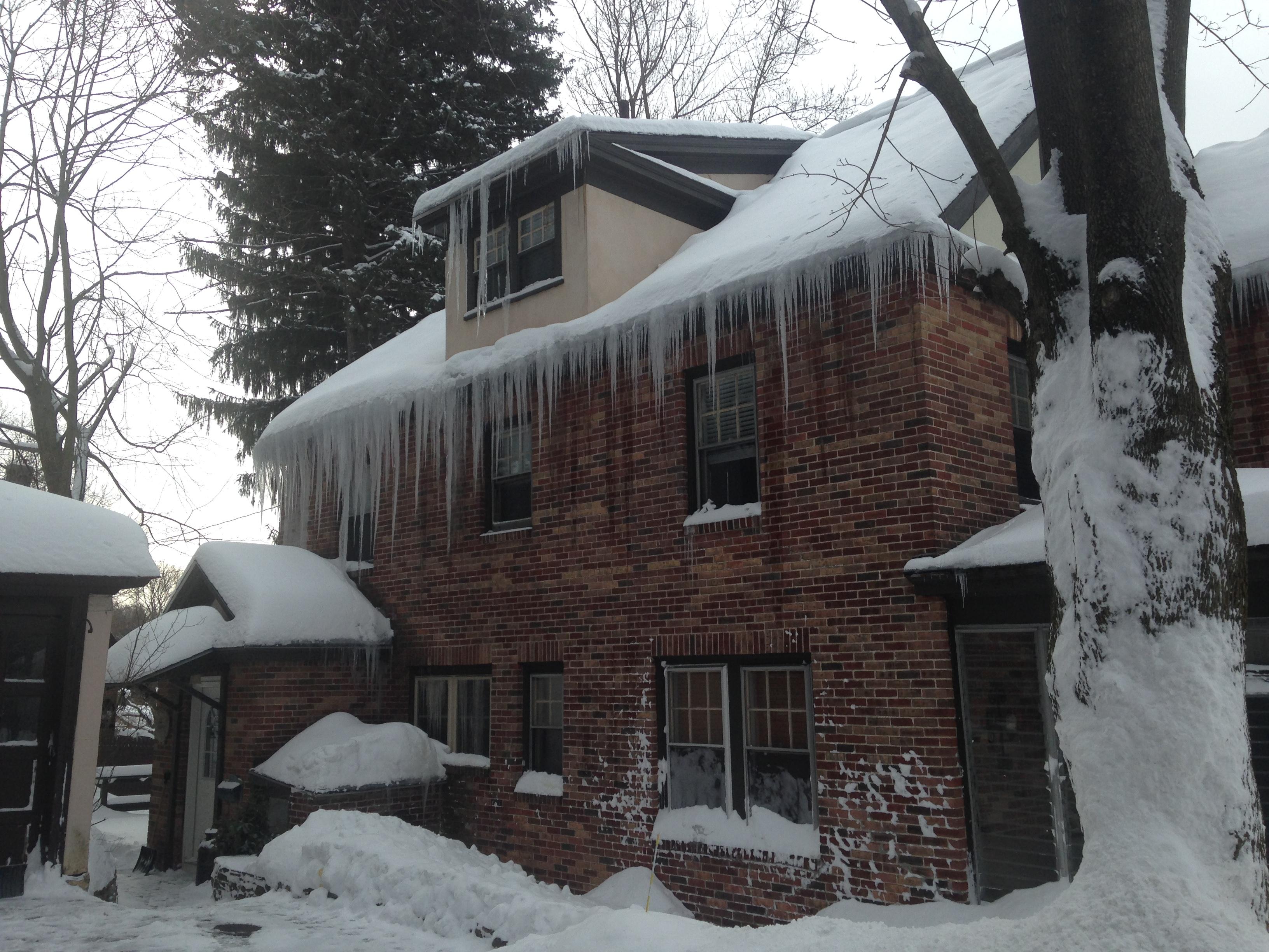 Ice dam, insurance claim workshop