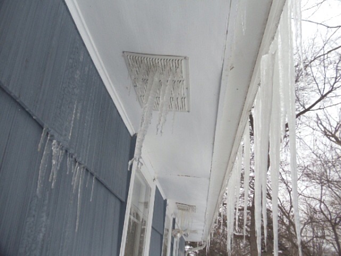 Ice Dams Insurance claims in Mass