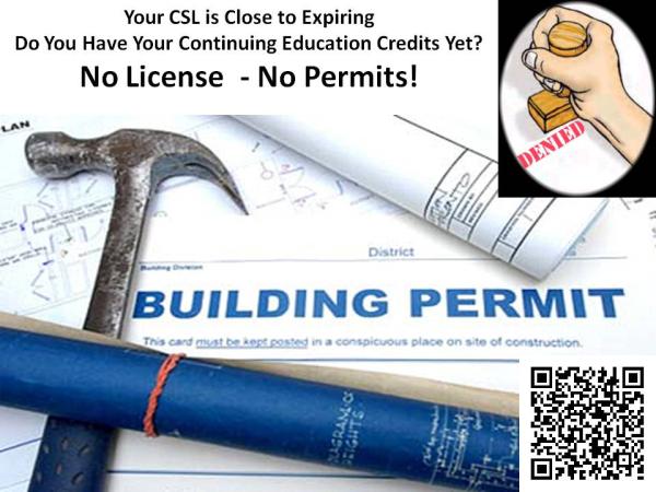 CSL CEU License Training in Mass