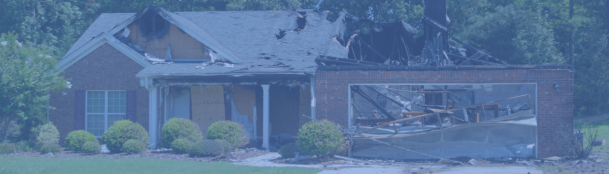 fire damage to home