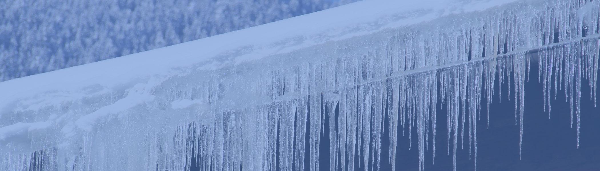 ice dams and ice damage